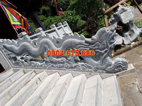 Rồng đá khối tự nhiên chạm khắc đẹp chất lượng cao giá hợp lý
