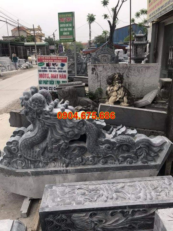 Rồng đá khối tự nhiên chạm khắc đẹp chất lượng tốt giá hợp lý