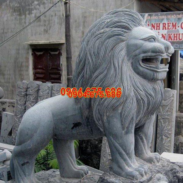 Sư tử đá phong thủy đẹp chất lượng tốt giá rẻ