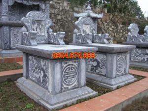 Hình ảnh mẫu mộ bằng đá xanh đẹp nhất Việt Nam