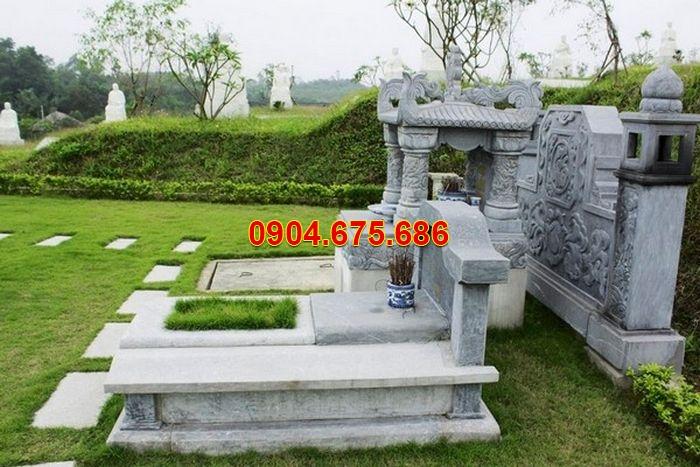 Mẫu mộ đá xanh tự nhiên đẹp nhất Việt Nam