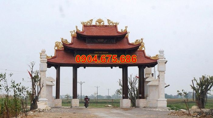 Ý nghĩa lịch cổng làng của người xưa và mẫu cổng làng bằng đá đẹp nhất Việt nam