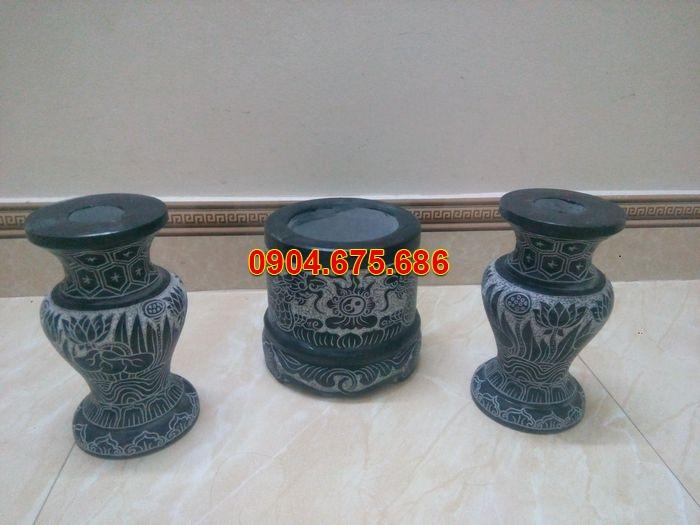 mua bát hương đá hà nội, bát hương đá và lọ hoa đá