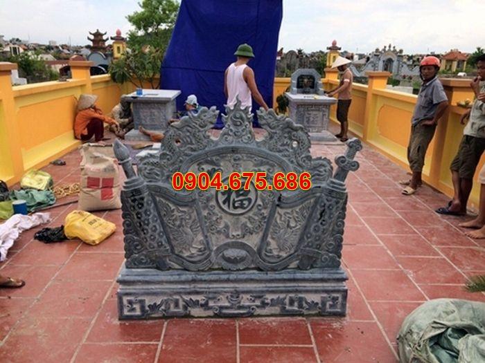 bình phong trước mộ đẹp nhất daninhbinh.vn