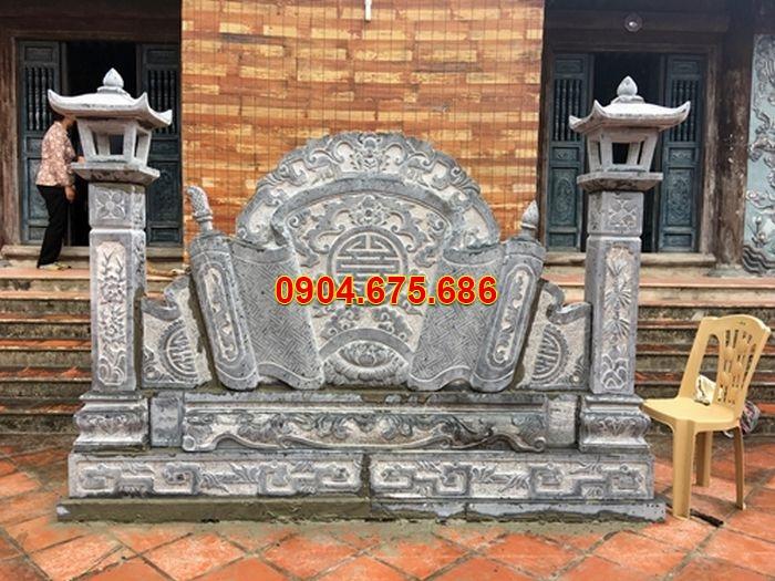bức bình phong lăng mộ đẹp nhất