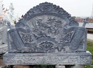 cuốn thư đá lăng mộ