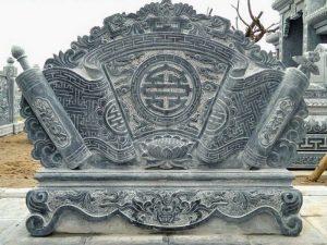 ý nghĩa bình phong đá