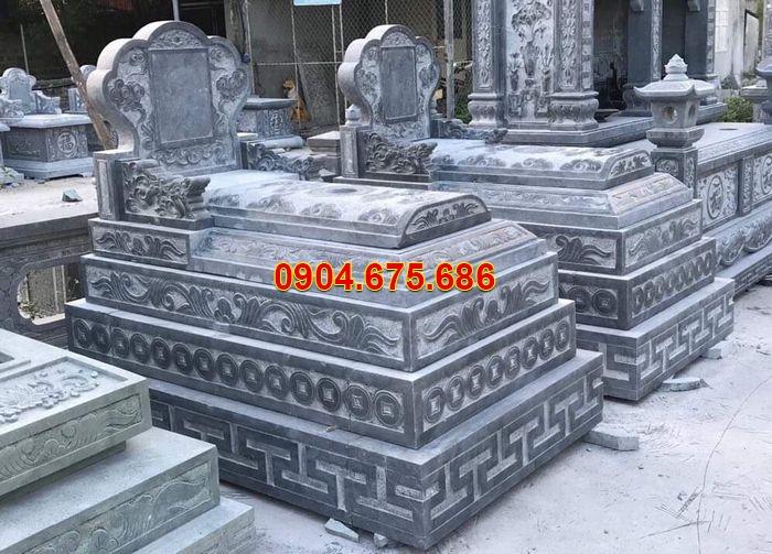 mộ đá an giang đơn giản