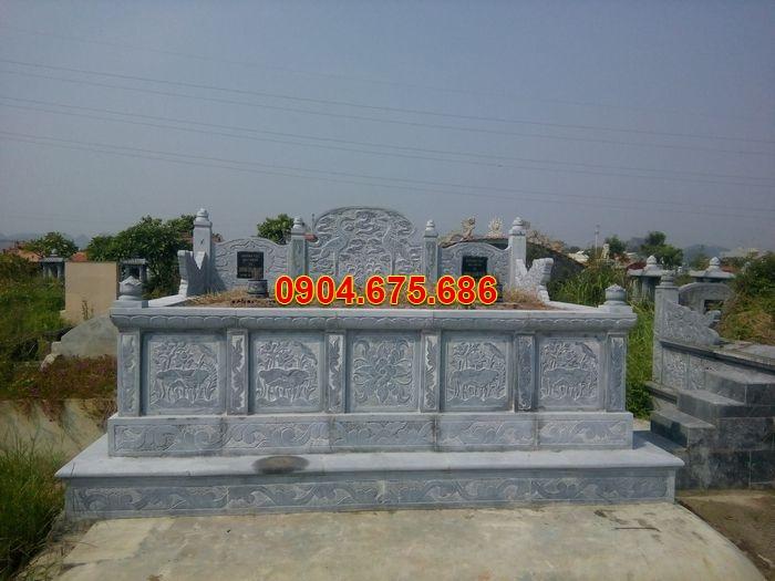 xây mộ đá 3 đẹp chuẩn phong thủy