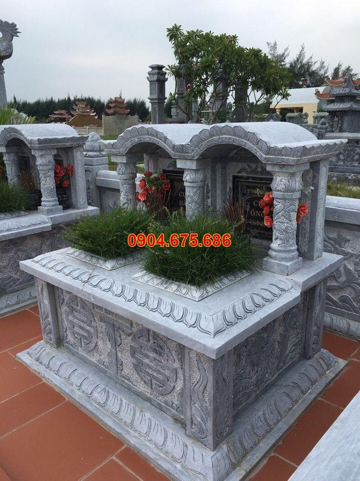 mộ đá đôi mái vòm đẹp
