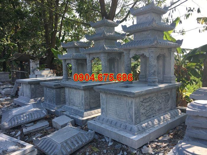 Giá mộ đá 3 mái Đá Ninh Bình