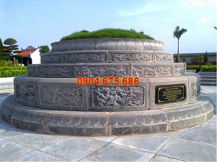 Giá mộ đá tròn Đá Ninh Bình