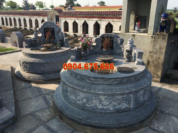 hình ảnh mộ đá tròn ninh vân ninh bình