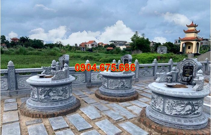 hình ảnh khu mộ đá tròn