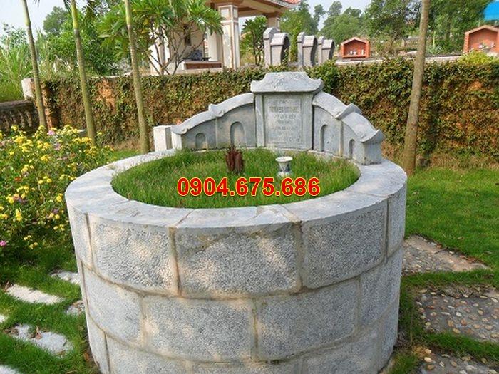 hình ảnh mộ đá tròn đẹp đơn giản