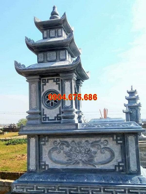 Lăng mộ đá xanh đen - Báo giá lăng lăng mộ đá xanh đen