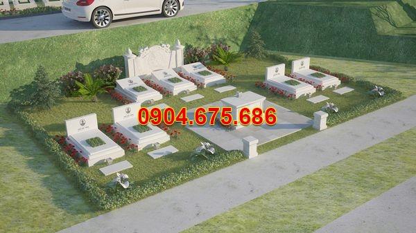 khu nghĩa trang gia đình đẹp