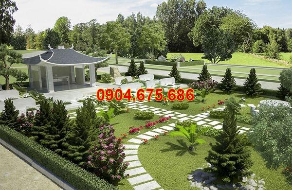 thiết kế khu nghĩa trang gia đình
