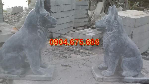 Cặp chó đá phong thuỷ