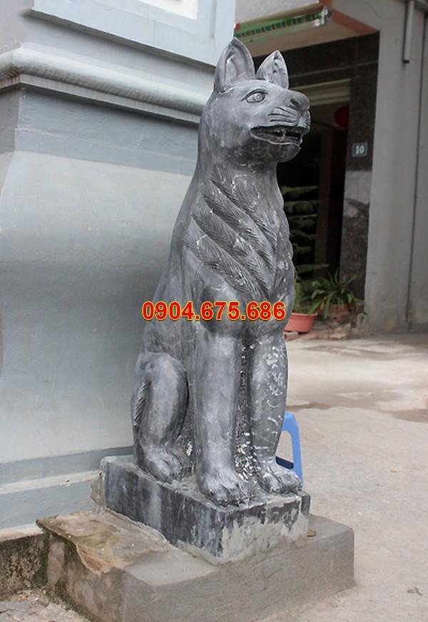 Tượng chó bằng đá giá rẻ TPHCM