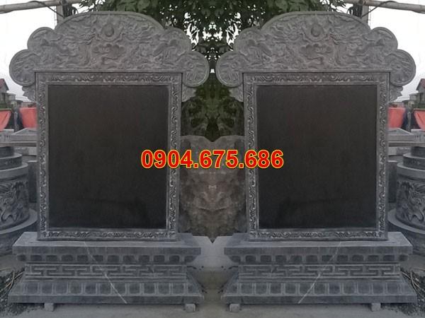 Mẫu bia mộ bằng đá Ninh Bình