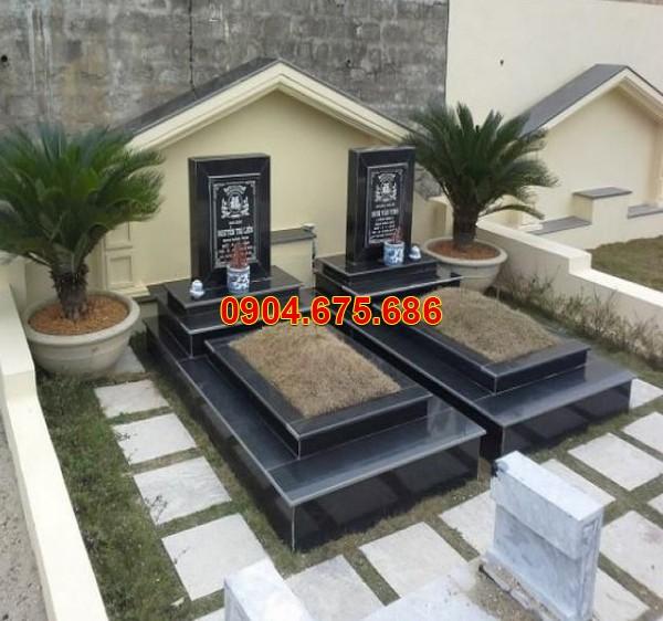 Mẫu mộ đá granite không mái