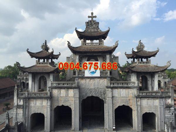 Cổng nhà thờ đá Phát Diệm - Ninh Bình