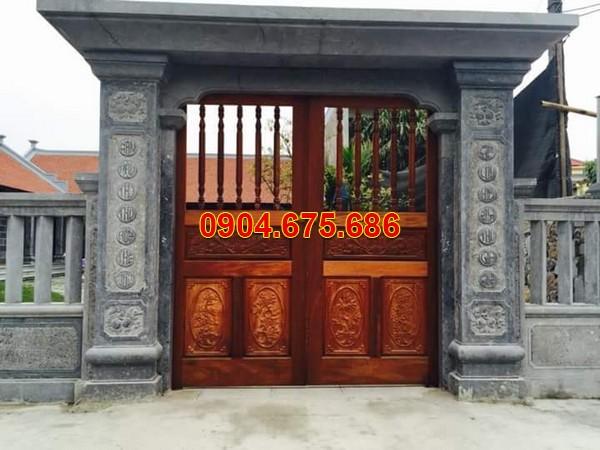 Mẫu cổng nhà thờ tổ đẹp