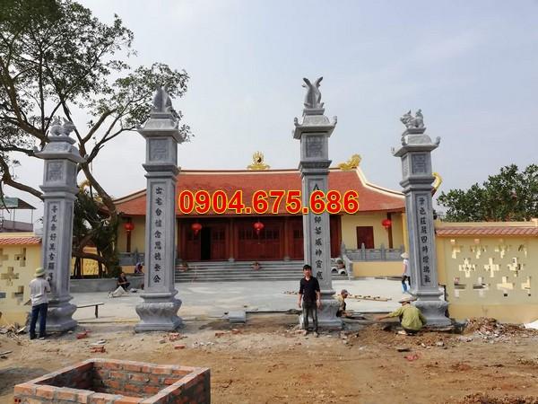 Cột cổng đá nhà thờ họ