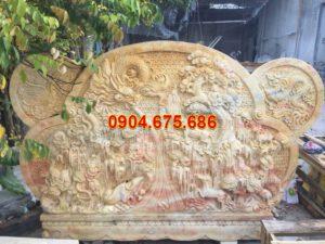 Mẫu bình phong đá vàng chất lượng cao