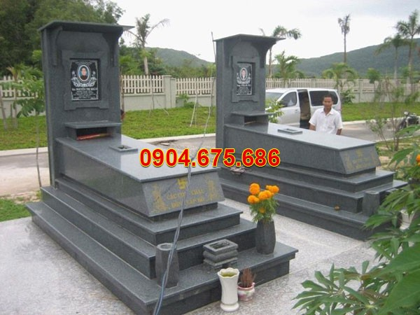Nhà mồ đá hoa cương ở Vĩnh Long