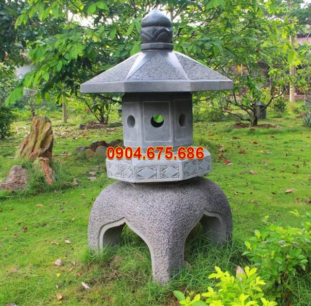 Đèn sân vườn bằng đá đẹp