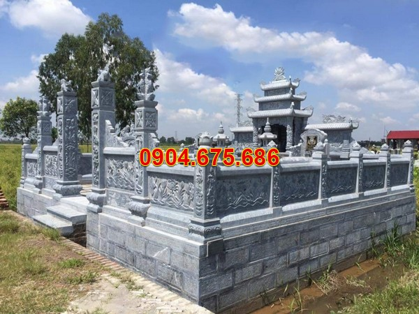 Làm kiểu nhà mồ đẹp bằng đá ở Đồng Nai