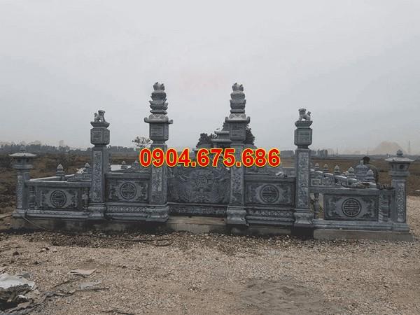 Mẫu khu nhà mồ bằng đá ở Tây Ninh