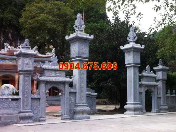 Thiết kế cổng tam quan đẹp