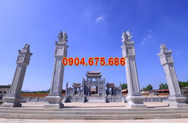 Các mẫu cổng đền, cổng đình, cổng chùa đẹp
