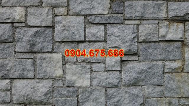 Tường rào đá chẻ
