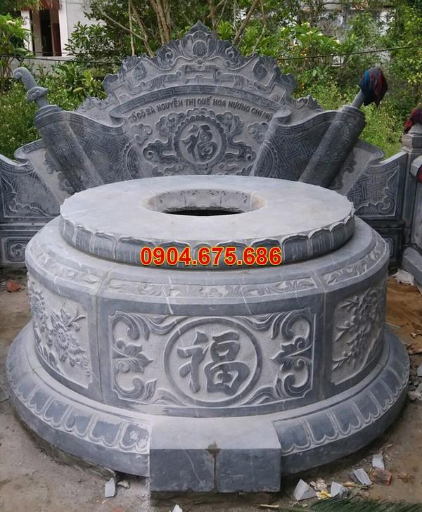 Giá mộ đá tròn bao nhiêu tiền