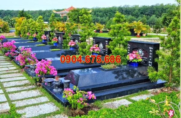 Mẫu mộ ốp đá hoa cương