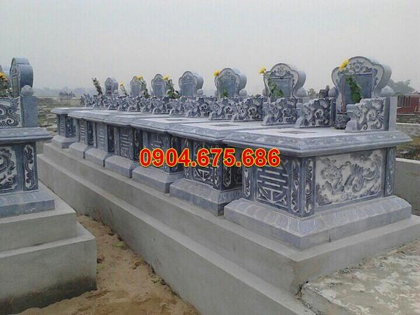 Cấu trúc các mẫu mộ đơn liền kề