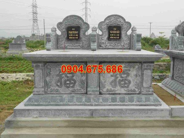 Mẫu mộ đôi liền kề