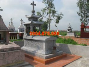 Mẫu mộ xây sẵn đẹp
