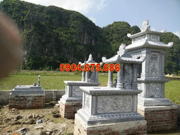 Mẫu mộ có sẵn bằng đá xanh