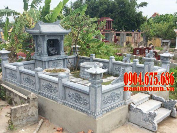 mẫu lăng mộ đá gia đình, lăng mộ đá gia đình, lăng mộ đá dòng họ