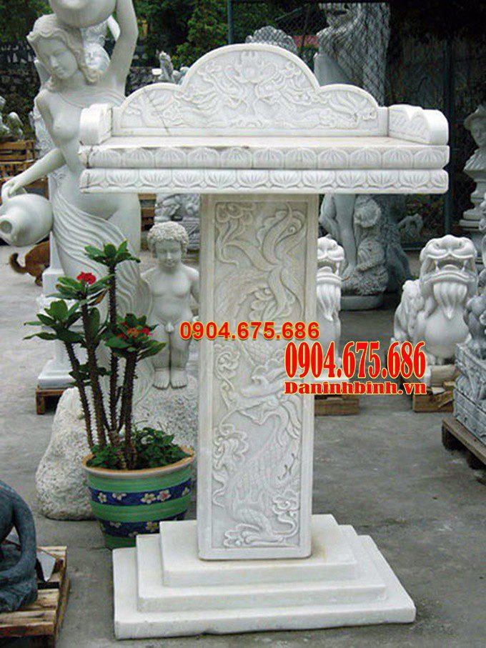 cây hương đá trắng, bàn thờ thiên đá trắng, am thờ đá trắng, cây hương bằng đá trắng, bàn thờ thiên bằng đá trắng, am thờ bằng đá trắng