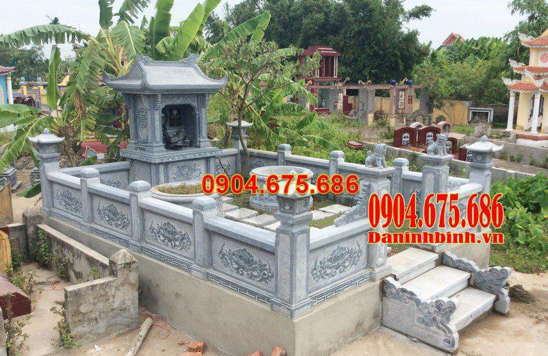 Lăng mộ đá Vĩnh Lộc đẹp bằng đá tự nhiên