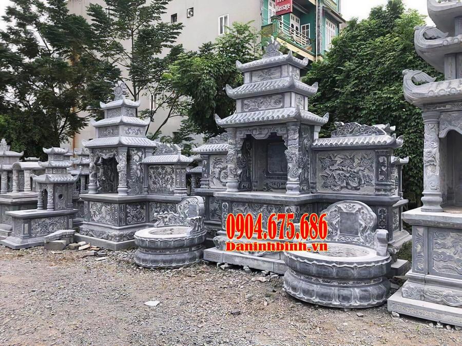 Lăng mộ đá ba mái thiết kế sang trọng, bề thế