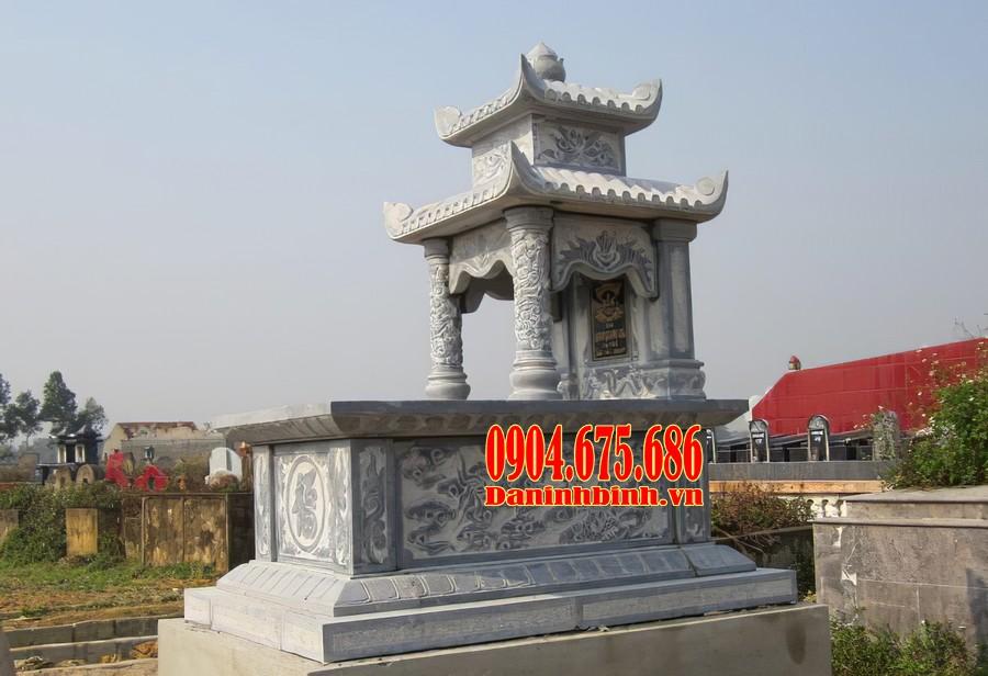 Mộ hai mái có phần đến mộ đơn giản, giật tam cấp đẹp mắt