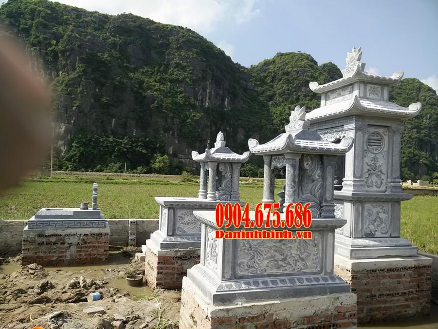 Các mẫu mộ một mái có kích thước trung bình
