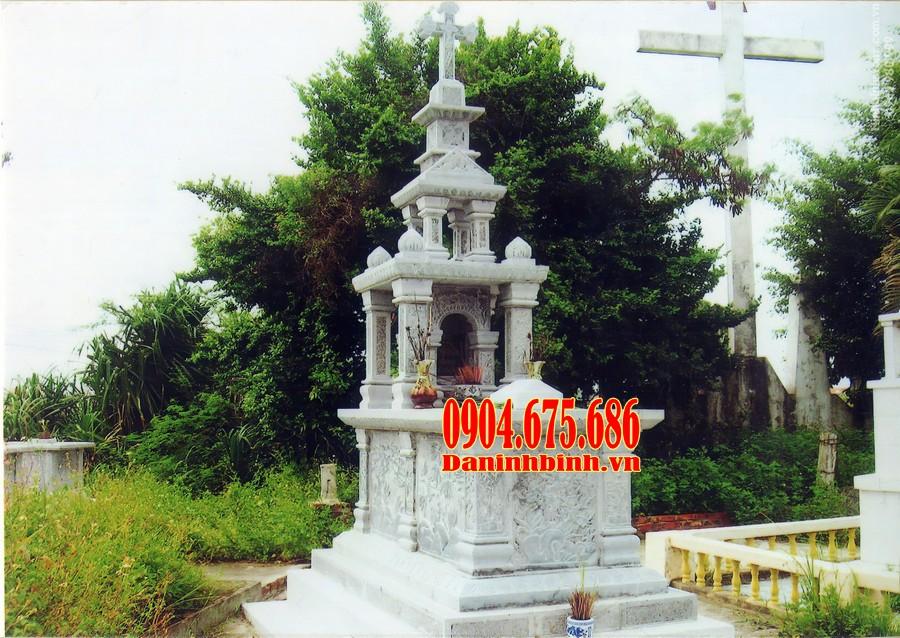 Mẫu mộ công giáo ba mái đẹp